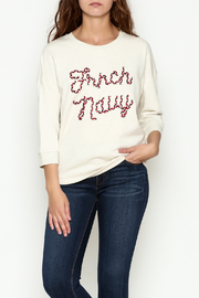 FRNCH Embroidered Sweatshirt - Front cropped