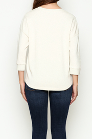 FRNCH Embroidered Sweatshirt - Back cropped
