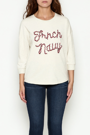 FRNCH Embroidered Sweatshirt - Front full body