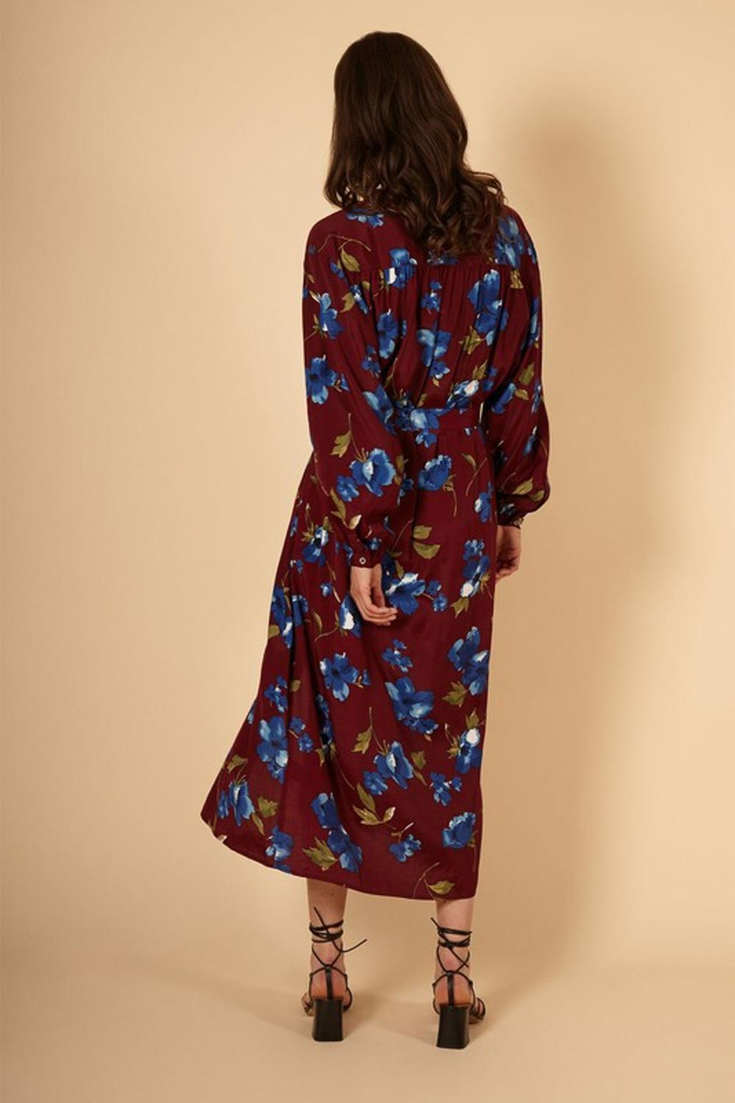 FRNCH Fall Floral Dress - Front Full Image