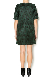 FRNCH Floral Suede Dress - Side cropped