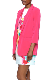 Shoptiques Product: Fuchsia Blazer - Front cropped