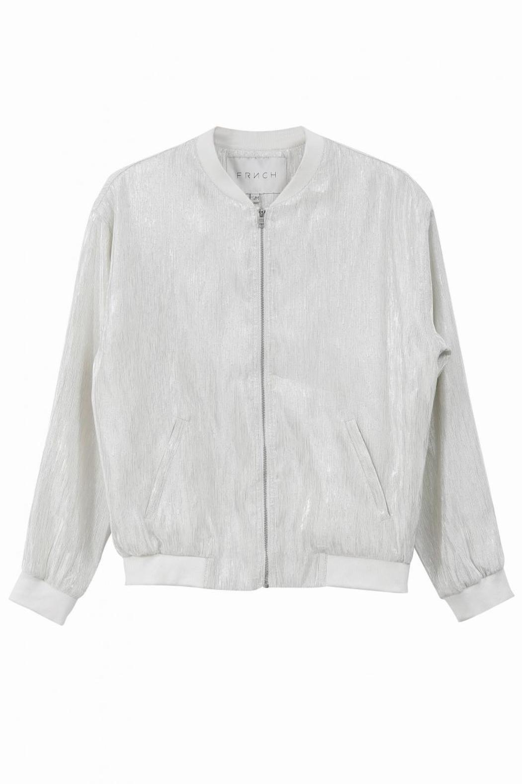 FRNCH Laurent Bomber Jacket - Side Cropped Image