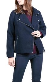 FRNCH Lyncee Moto Jacket - Front cropped