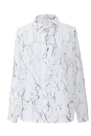 FRNCH Marble Print Shirt - Front cropped