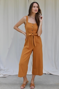 FRNCH Maria Buttoned Jumpsuit - Product List Image