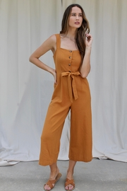 FRNCH Maria Buttoned Jumpsuit - Product Mini Image