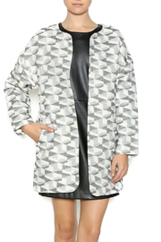 FRNCH Metallic Print Jacket - Product Mini Image
