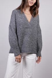 FRNCH Nola Knit Sweater - Front cropped