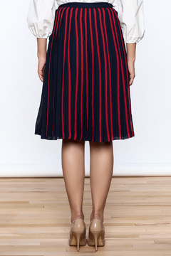 FRNCH Paris Pleated A-Line Skirt - Alternate List Image