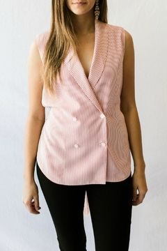 FRNCH Red Striped Blouse - Product List Image