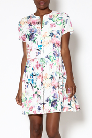 FRNCH Spring Floral Dress - Product Mini Image