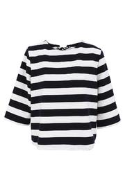 FRNCH Striped Shift Top - Product Mini Image
