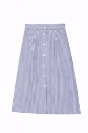 FRNCH Trapeze Skirt - Back cropped