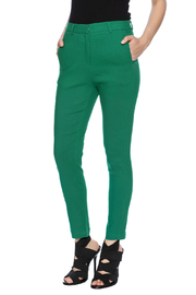 FRNCH Twill Ankle Pants - Product Mini Image