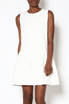 FRNCH White Cotton Dress - Product List Image
