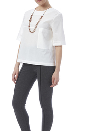 FRNCH White Poplin Top - Product Mini Image