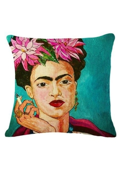 Shoptiques Product: Frida Kahlo Pillow
