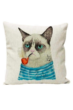 Shoptiques Product: Grumpy Cat Pillow