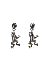 Diane's Accessories Frog Dangle Earrings - Front cropped