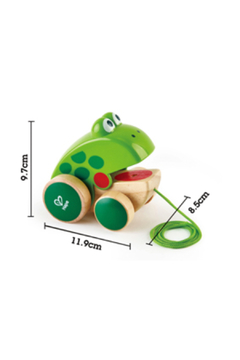 Hape Frog Pull Along - Alternate List Image