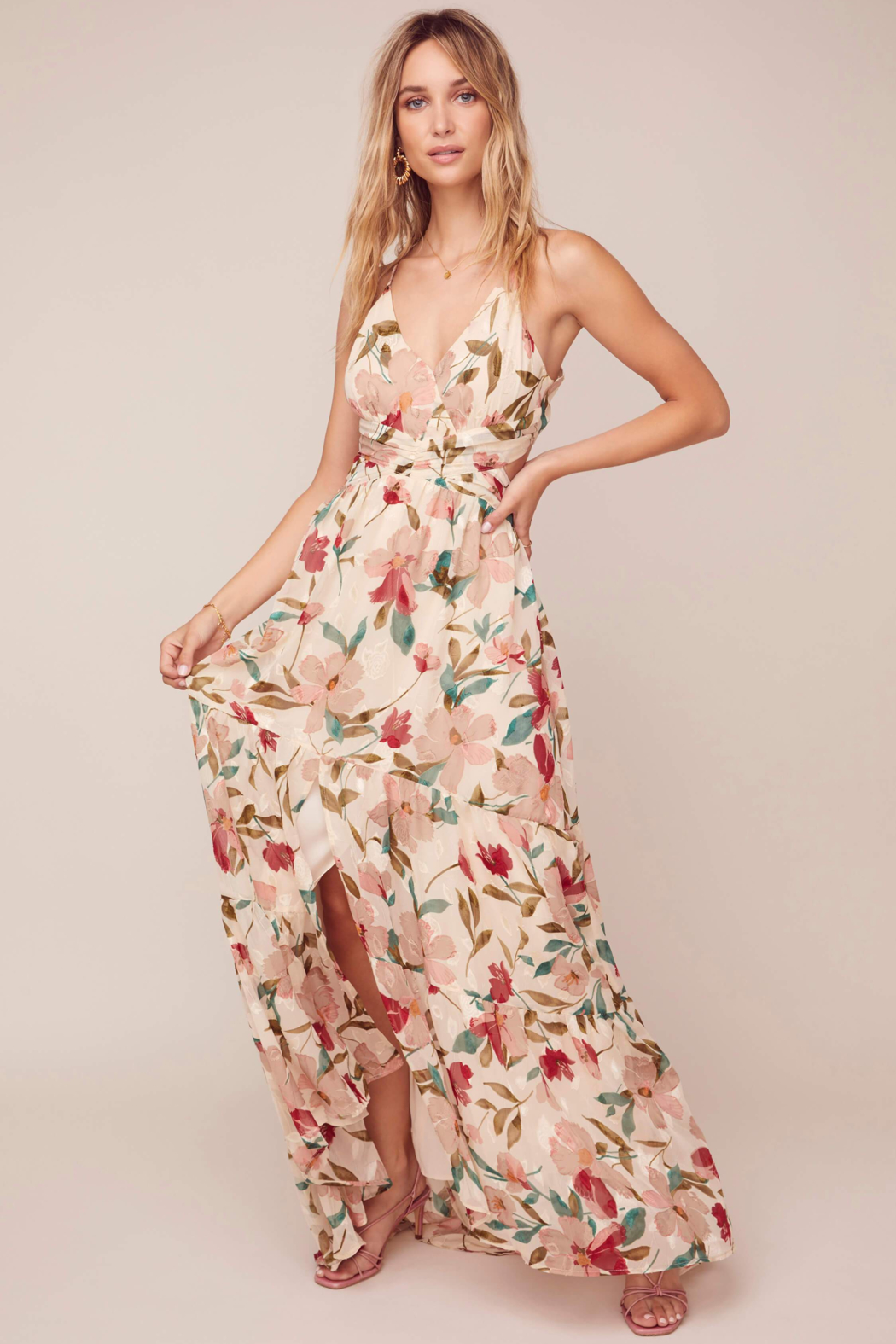 ASTR the Label Frolic Floral Maxi Dress - Main Image