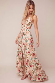 ASTR the Label Frolic Floral Maxi Dress - Side cropped