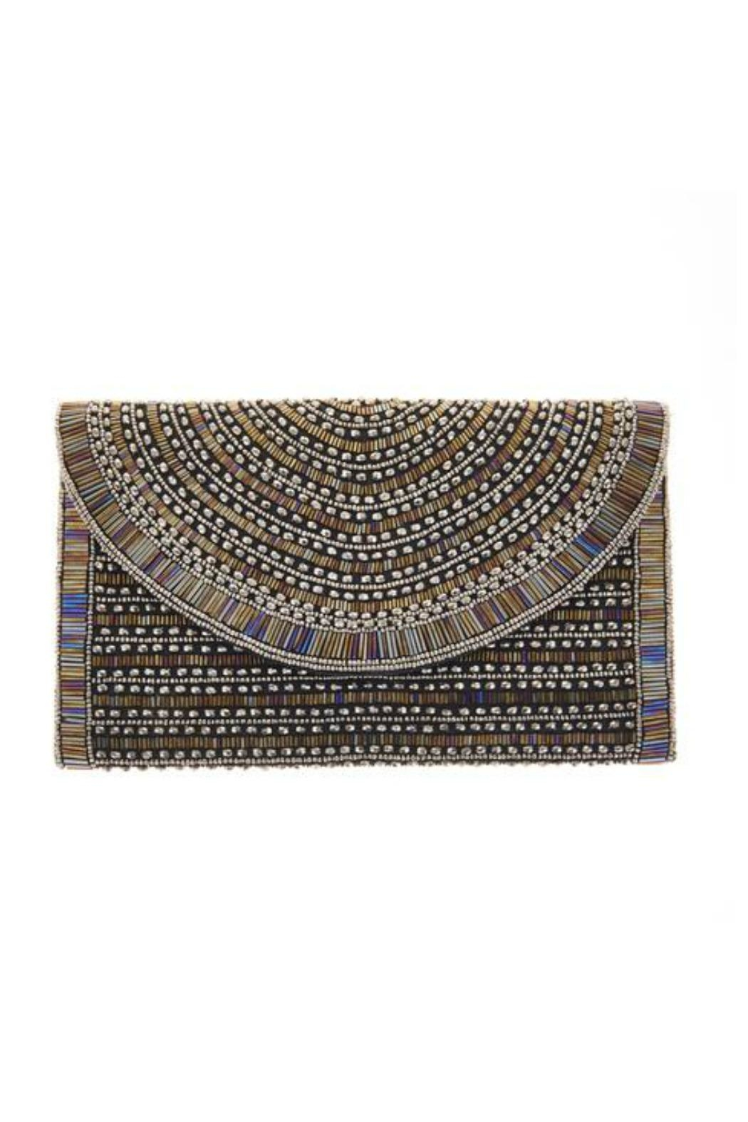 From St. Xavier  Bailey Hand Beaded Clutch - Main Image