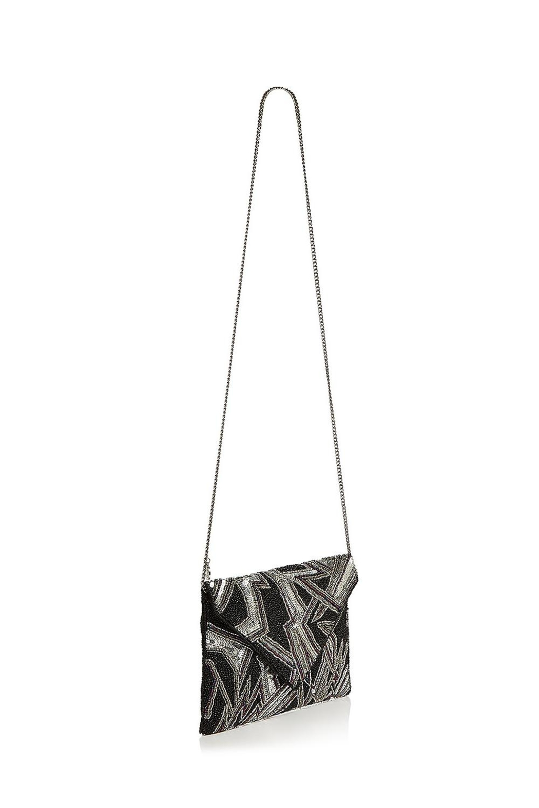 From St. Xavier  Bowie Beaded Clutch - Side Cropped Image