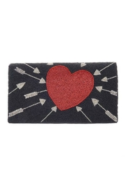 From St. Xavier  Cupid Hand Beaded Clutch - Front cropped
