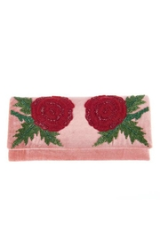 From St. Xavier  Damask Velvet Clutch - Product Mini Image