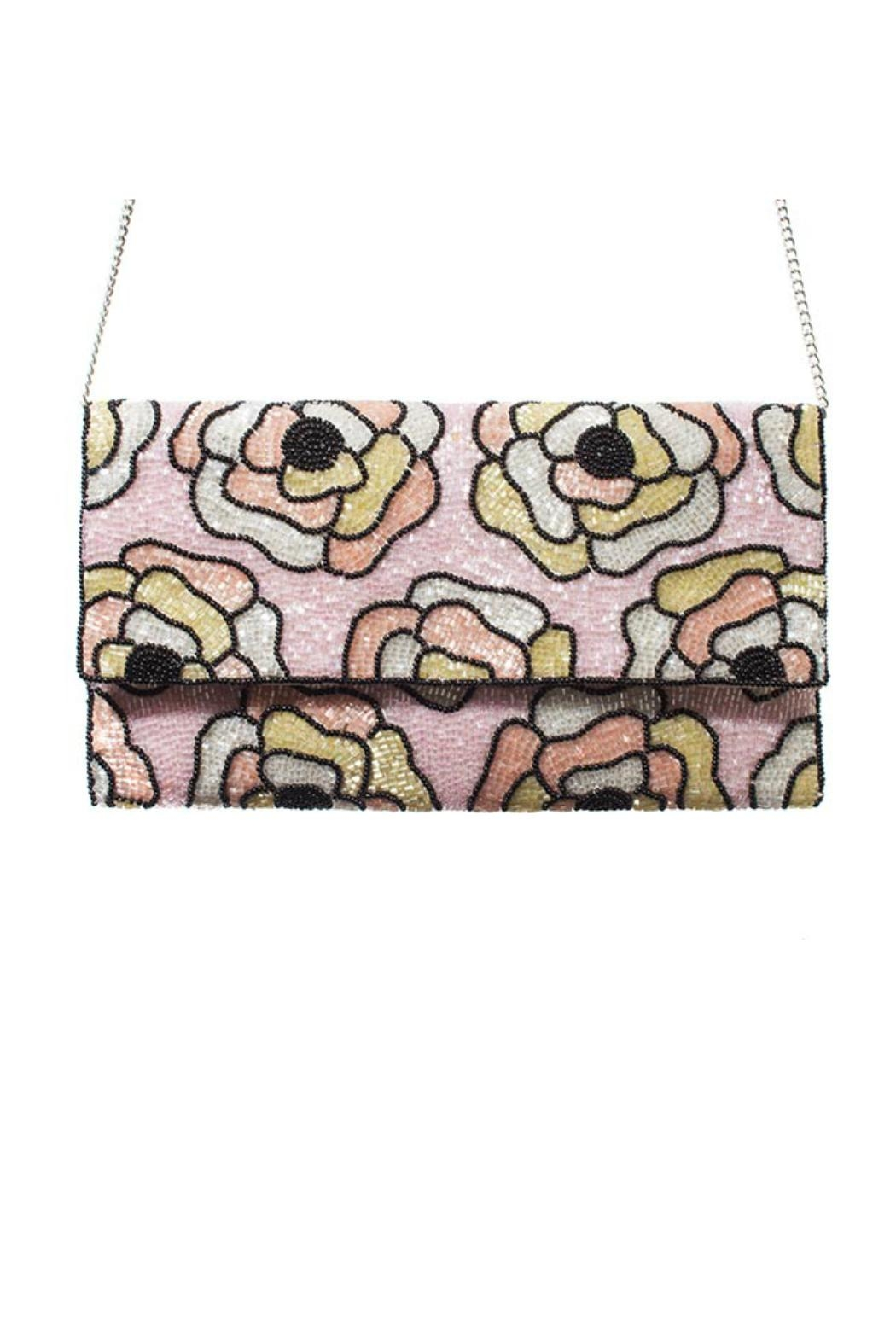 From St. Xavier  Flora Clutch - Front Full Image
