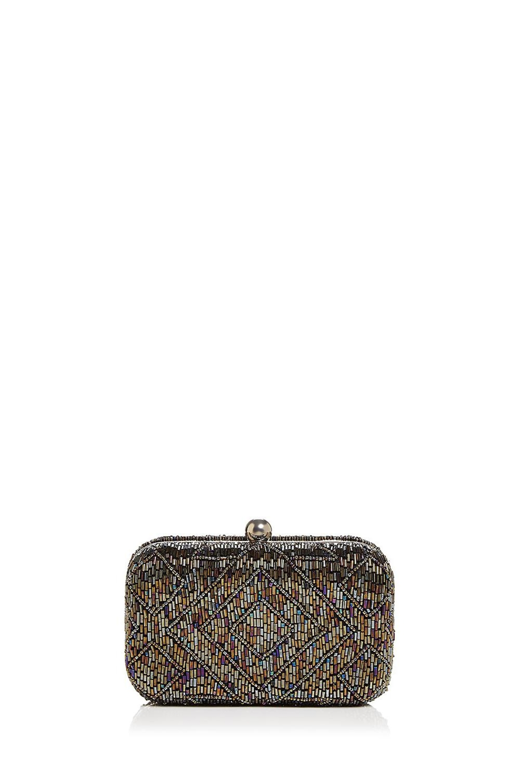 From St. Xavier  Hayley Beaded Box Clutch - Main Image