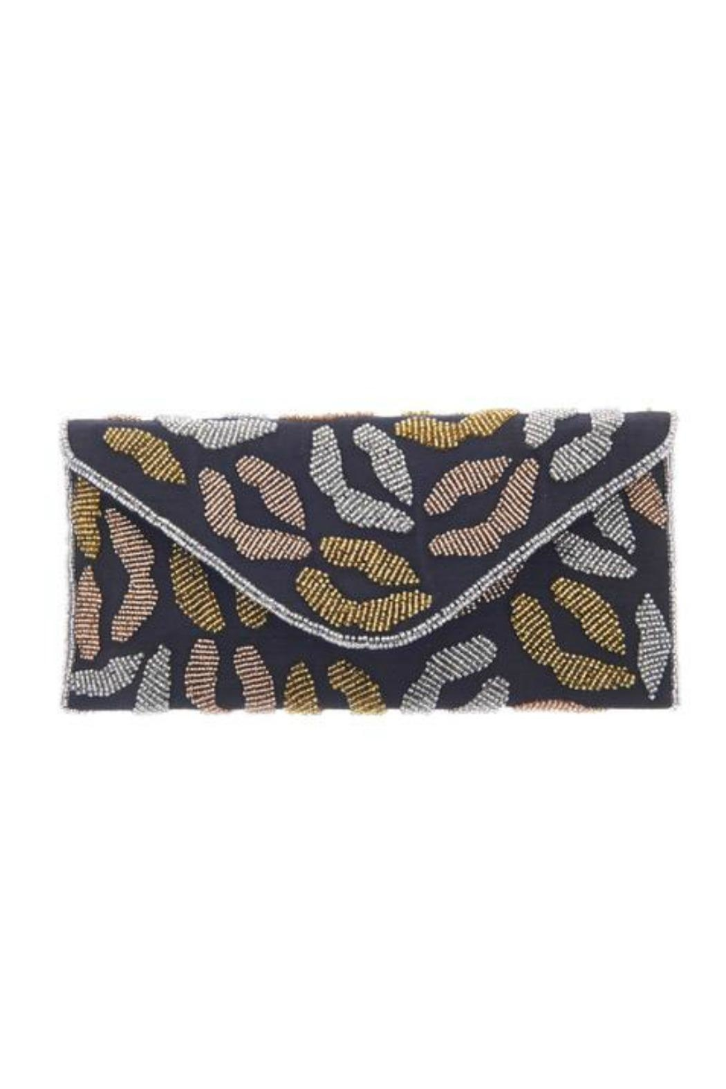 From St. Xavier  Kisses Hand Beaded Clutch - Main Image