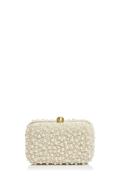 From St. Xavier  Marcela Pearl Box Clutch - Product List Image