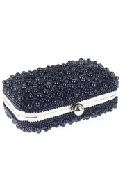 From St. Xavier  Marcela Pearl Box Clutch - Front full body