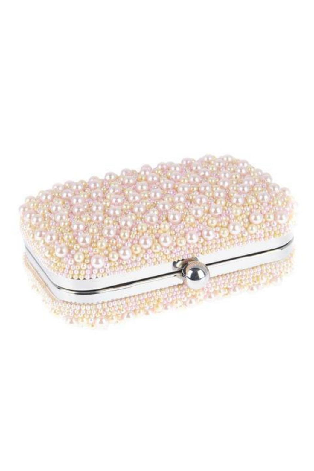 From St. Xavier  Marcela Pearl Box Clutch - Front Cropped Image