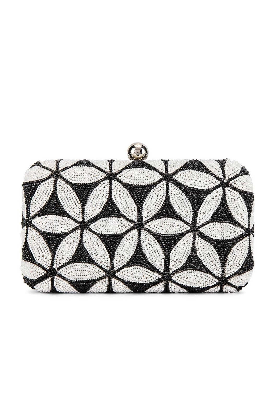 From St. Xavier  Sabrina Box Clutch - Front Full Image