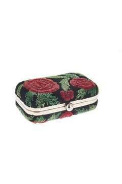 From St. Xavier  Sangria Floral Box Clutch - Alternate List Image