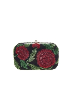 From St. Xavier  Sangria Floral Box Clutch - Product List Image
