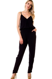 Lovetree Front-Band Detail Jumpsuit - Product Mini Image