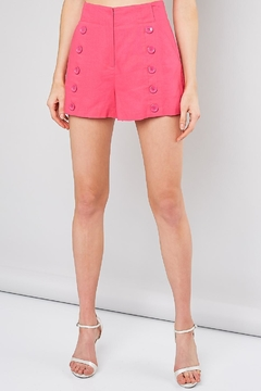 Do & Be Front Button Shorts - Product List Image