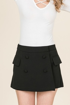 Lumiere Front Button Skort - Product List Image