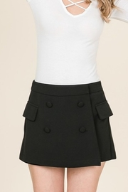 Lumiere Front Button Skort - Product Mini Image