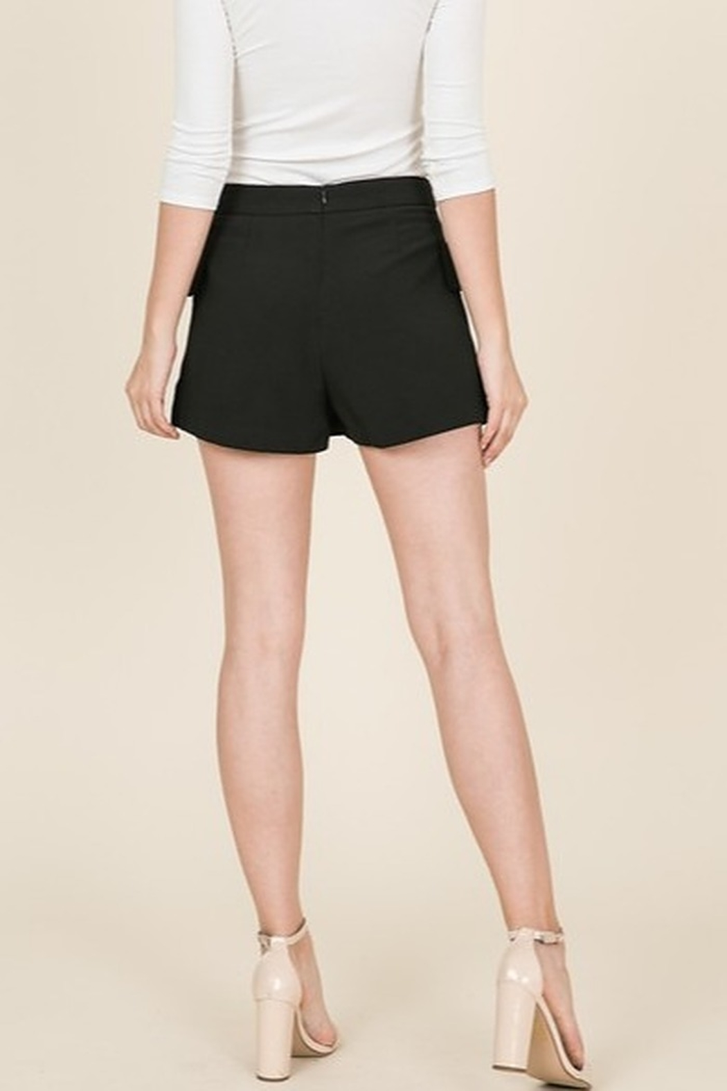 Lumiere Front Button Skort - Front Full Image
