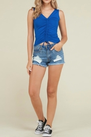 Heart & Hips Front Detail Tank - Product Mini Image