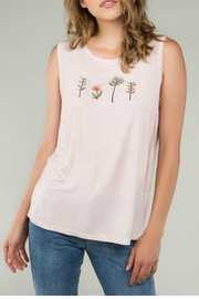 POL Front Embroidered Tank - Product Mini Image