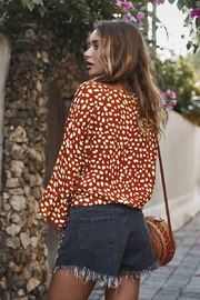 Lyn -Maree's Front Knot Blouse - Product Mini Image