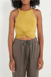 Soprano Front-Knot Crop-Top Tank - Product Mini Image