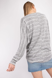143 Story Front-Knot Detail Top - Back cropped